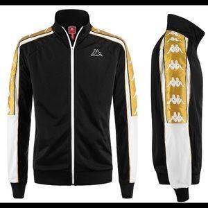 Black and gold Kappa jacket